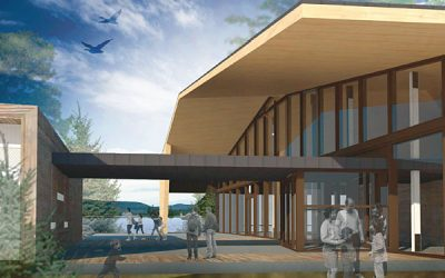 Centre de découverte et de services du parc national du Mont-Tremblant
